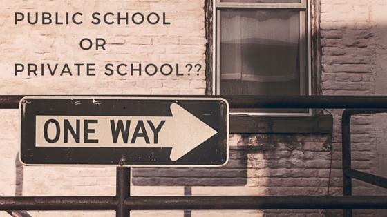 private or public school
