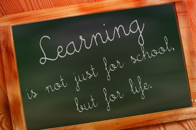 Learning is not just for school but for life
